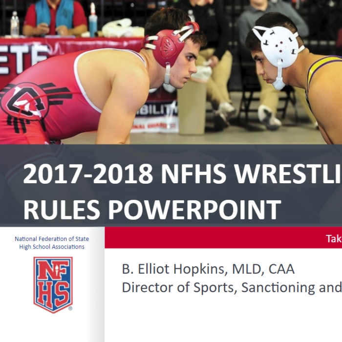 2017-18 NFHS Rules Powerpoint