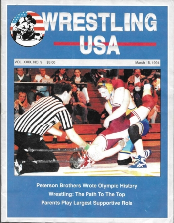 Karl Krause on Wrestling USA, 1994
